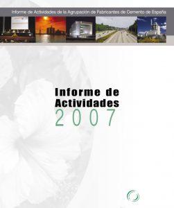 Informe de actividades Oficemen 2007