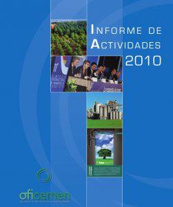 Informe de actividades Oficemen 2010